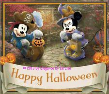 "Disney's ""Mickey and Minnie's Happy Halloween"" Cross Stitch Pattern CD"