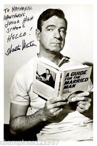Walter Matthau ++Autogramm++ ++Hollywood Legende++