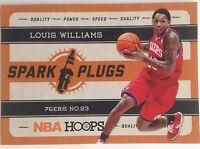 Louis Williams 76ers No. 23 Spark Plugs Original #12  Single 2011-2012 Panini 9