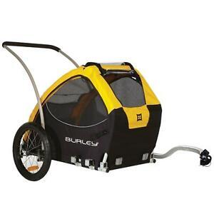 Burley Fahrrad Lasten Hunde Anhänger Tail Wagon Transport Hänger Spitzenklasse