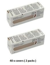 Braun Thermoscan Ear Thermometer Lens Filters Probe Covers- 40 (2 x 20)