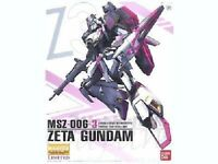 BANDAI MG 1/100 MSZ-006-3 ZETA GUNDAM UNIT 3 WHITE UNICORN COLOR Model Kit NEW