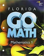 Go Math Florida Mathematics 1 Assessment Resource with Answers Grade 6