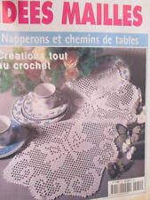 Diana Idees Mailles En Crochet Magazine #54- Napperons & Chemins de Tables