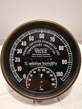 Abbeon Certified Hygrometer and Temperature Model HTAB169B (Made in West Germany