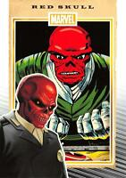 RED SKULL / Marvel 75th Anniversary (2014) BASE Trading Card #66