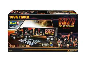 REVELL 07644 1/32 KISS END OF THE ROAD KENWORTH TOUR TRUCK