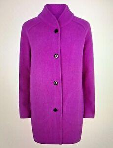 Fenn Wright Manson  Purple Rebecca Cocoon Wool Size L