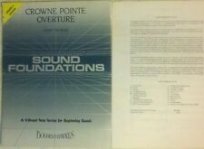 Crowne Point Overture - Jerry Nowak - Concert Band Sheet Music