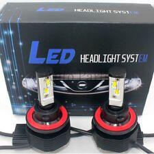 H13 256W 25600LM CREE LED Headlight Kit Hi/Low Beam 6000K White Bulbs High Power