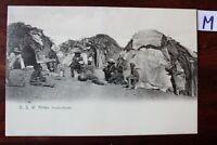 Postkarte Ansichtskarte Deutsch-Kolonien Deutsch Ost Afrika Herero-Hütten