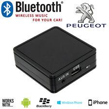 Peugeot 206 307 406 Bluetooth Stéréo Auto Musique Streaming Mains Libres Avec