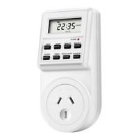 Timer Switch Socket Digital LCD Power Energy-saving Plug-in AU Socket 240V 10A