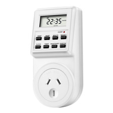 Timer Switch Socket Digital LCD Power Energy-saving Plug-in AU Socket 240V 10A