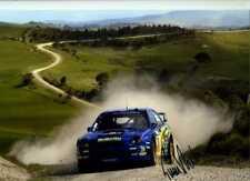 Tommi Makinen Subaru Impreza S7 WRC Rally New Zealand 2002 Signed Photograph 1
