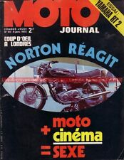 MOTO JOURNAL   50 YAMAHA 360 RT2 RT 2 READ SHEENE SMART RAYER Salon LONDRES 1972