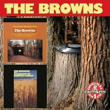 The Browns: I Heard The Bluebirds Sing / A Harvest of Country Songs NEW CD