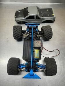 Vintage Duratrax Mini Quake Rc Truck RARE!!! Upgraded As Is For Parts Or Repair
