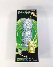 Rick and Morty Geeki Tikis Set Tiki Mugs Cups Loot Crate DX Exclusive LootCrate