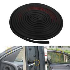 16ft D Shape Rubber Seal Car Door Edge Guard Molding Trim Protectors Strip Black Fits 2007 Sportage
