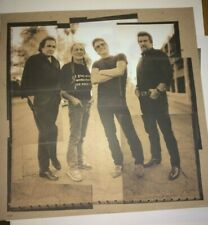 The HIGHWAYMEN Road Goes On Forever Art Print Willie Nelson Johnny Cash SALE