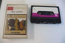 K7 AUDIO TAPE CASSETTE JAZZ THE CONNOISSEUR PRESENTS MILT JACKSON OPUS DE FUNK.