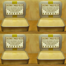 Handcrafted Beeswax Timber Polish - FOUR PACK - Total 320g of Polish