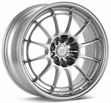Enkei NT03+M Wheels 18x9.5 +40 Silver 5x114.3 set of 4