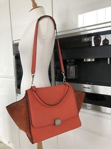 100% Authentic Celine Trapeze Bag Orange