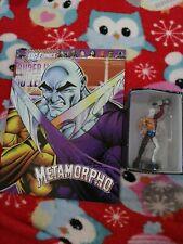 DC COMICS SUPER HERO COLLECTION ISSUE  59 METAMORPHO EAGLEMOSS FIGURINE + MAG