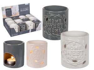 Duftlampe Home Sweet Home 9 cm aus Keramik in grau! Düfte NEU
