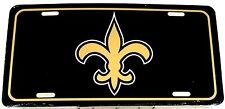 License Plate New Orleans Saints football Auto Tag new aluminum car LP-1437