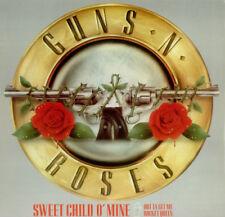 """Guns N' Roses - 12"""" Metallic Slve- Sweet Child O' Mine- 1988 Geffen GEF 43TV"""