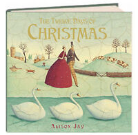 The Twelve Days of Christmas by Alison Jay (Hardcover) FREE shipping $35