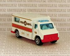 5 PACK EXCLUSIVE FIRE DEPT AMBULANCE WHITE RED GOLD TRUCK HOT WHEELS