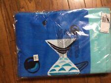 Nwt Vera Bradley Beach Towel in Go Fish Blue Nwt