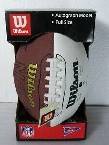 Eddie George Autographed Wilson Model Football Tenn.Titans, Dallas Cowboys [LW]