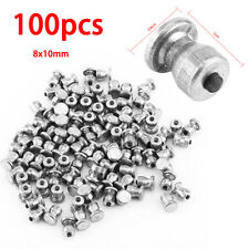 100pcs 8mm Screw in Tire Stud Anti-Slip Wheel Tyre Snow Tire Chain Car Auto SUV