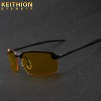 Men High-end Night Vision Polarized Uv400 Driving Glasses Sunglasses Eyewear