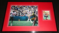 Steve DeBerg Signed Framed 11x17 Photo Display 49ers