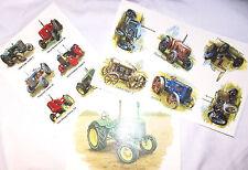 Ceramic Decals Vintage Modern Tractors Vehicle Farm Asst Designs