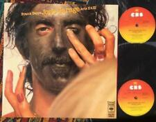 Frank Zappa 1st Edition 33 RPM Speed Vinyl Records