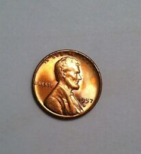1957-D Lincoln Cent Doubled Die Obverse Die #14 Choice Uncirculated