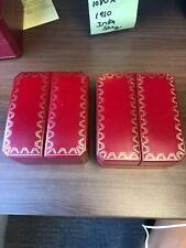 Authentic Le Must de Cartier Box Jewelry Set Of 2