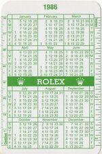1986 1987 vintage Rolex CALENDARIO VERDE 6265 5513 1655 1803 6262 1675 1680 1016