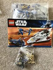 LEGO Star Wars 7868 Mace Windu Starfighter, Missing TX20 but otherwise complete