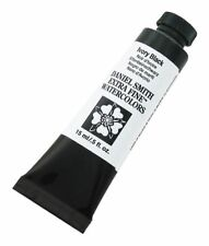 Daniel Smith Extra Fine Watercolor 15 ml Ivory Black 600048 Ser 1 New