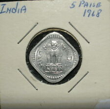 India 1968 5 Paise Uncirculated Coin