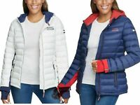 Tommy Hilfiger Ladies' Packable Jacket VARIETY Size & Color | Free Shipping I42