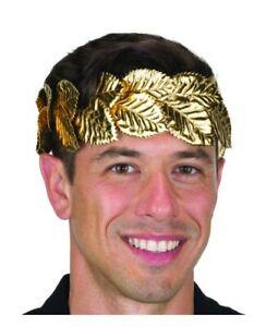 Laurel Wreath - Roman/Greek - Gold - Costume Accessory - Adult Teen